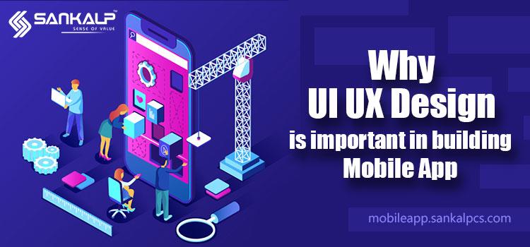 UI / UX design of mobile app