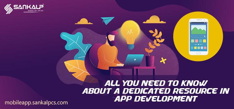 dedicated resource for app development